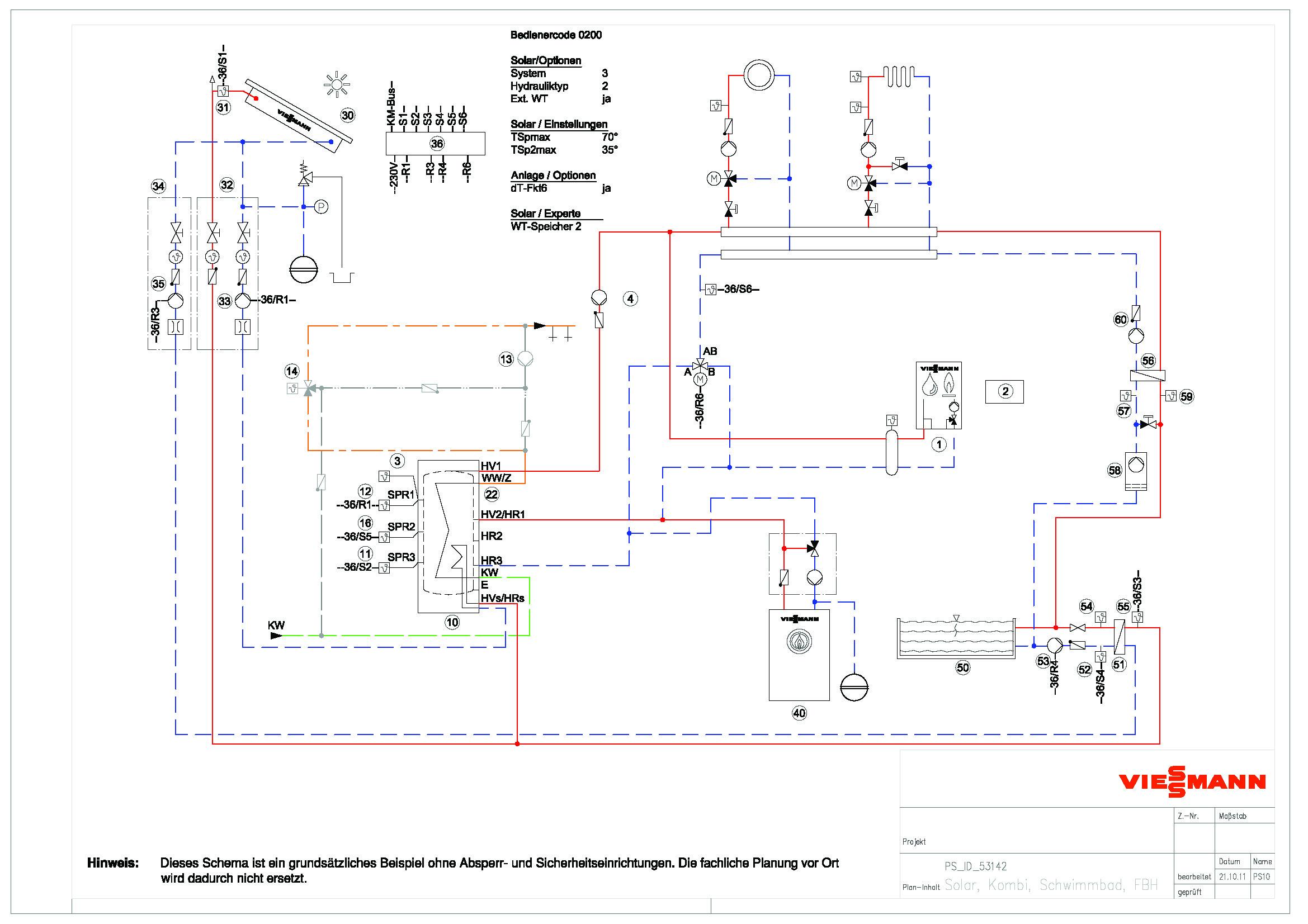 hydraulikschema viessmann die 2te haustechnikdialog. Black Bedroom Furniture Sets. Home Design Ideas