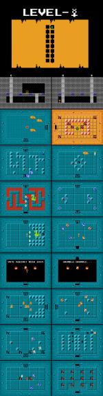 Maps for Shin Zelda Densetsu 3 2